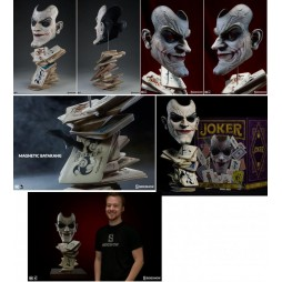 The Joker Face Of Insanity Life Size Bust 1:1 Sideshow Limited Edition N°591/1000 pz./Mondo