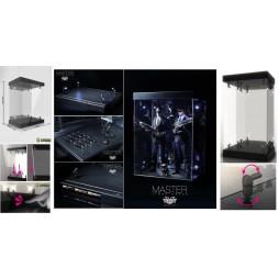 Master Lighthouse - Legend Studio - Display Case For 1/6 Scale Action Figures - Teca In Plexiglass Illuminata per Action