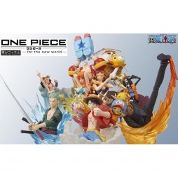 One Piece - For The New World TSUMI - Complete Trading Figure Set