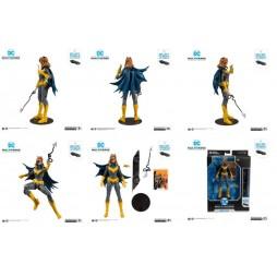 DC Comics - DC Multiverse Action Figure - Rebirth Art of the Crime - Build A Action Figure - Batgirl 18 cm