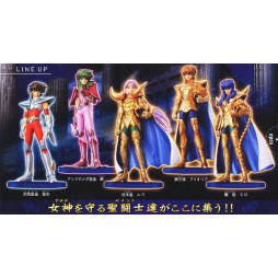 Saint Seiya - Agaruma (Saint Agalma I) part I - Trading Figure SET - Complete set of 5+2ss