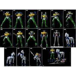 DFS072 - Kotetsu Jeeg - Jeeg Robot D\'Acciaio - Jeeg & Panzeroid Set King Arts