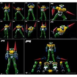 DFS075 - Kotetsu Jeeg - Jeeg Robot D\'Acciaio - Battle Damaged Armor Jeeg Set King Arts