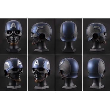 Marvel - Captain America Civil War - 1/1 SCALE Prop Replica Captain America Helmet - Elmo Black Panther - by Killerbody