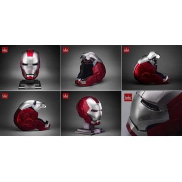 Marvel - Iron Man II - 1/1 SCALE Prop Replica - Iron Man Mark V Helmet - Elmo Iron Man