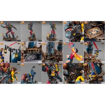 Marvel Comics - X-Men - 1/10 Art Scale Statue Diorama - Iron Studios - X-Men Vs. Sentinel #1 Deluxe Diorama