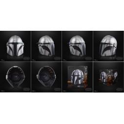 Star Wars - Black Series - The Mandalorian - 1/1 SCALE Mando S2 - Premium Electronic Helmet - Hasbro