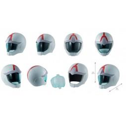 Mobile Suit Gundam - Kido Senshi Gundam - Full Scale Works - 1/1 SCALE - Amuro Rei Helmet - Casco Peter Rei - Con Suppor