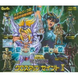 Saint Seiya - Cloth Up Saint Vol.2 - Trading Figure SET - Complete 5 Figure SET part 2