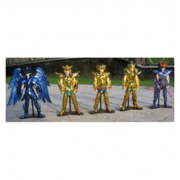 Saint Seiya - Cloth Up Saint Vol.3 - Trading Figure SET - Complete 5 Figure SET part 3