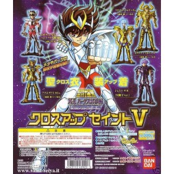 Saint Seiya - Cloth Up Saint Vol.5 - Trading Figure SET - Complete 5 Figure SET part 5