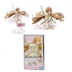 Sword Art Online Alicization - ESPRESTO Figure - Asuna Est Dressy and Motion Figure