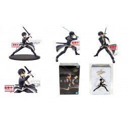 Sword Art Online Alicization - EXQ Figure - Kirito Black Sworsman Figure
