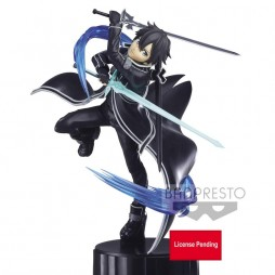 Sword Art Online Alicization - ESPRESTO Figure - Kirito All Black Ver. Figure