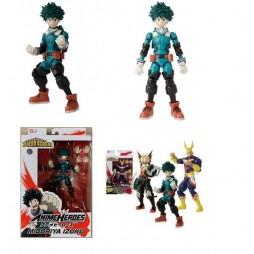 Anime Heroes - My Hero Academia - Boku No Hero Academia - Izuku Midoriya Hero Ver. - 14 cm Action Figure - Bandai