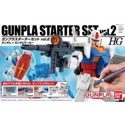 HG Gunpla Starter - RX-78-2 Gundam Gunpla Starter Set vol. 2 1/144