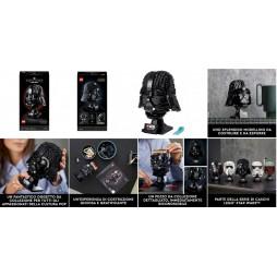 LEGO - Star Wars - Darth Vader Helmet - Casco Darth Vaderi 75304 - 834 pcs