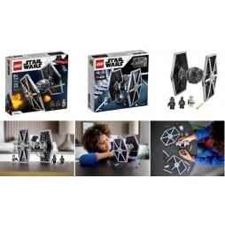LEGO - Star Wars - Imperial Tie Fighter 75300 - Caccia Imperiale Tie