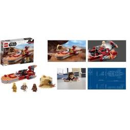 LEGO - Star Wars - Luke Skywalker\'s Landspeeder 75271 - Landspeeder di Luke Skywalker