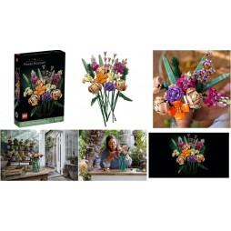 LEGO - Botanical Collection Set - Flower Bouquet - Bouquet Floreale 10280 - 756 pcs