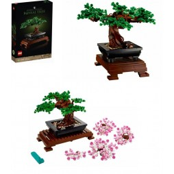 LEGO - Botanical Collection Set - Bonsai Tree - Albero Bonsai 10281- 878 pcs