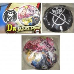 One Piece - Ichiban Kuji Dressrosa Prize Lot D - Cuscino - Trafalgar D. Law Vs Doflamingo