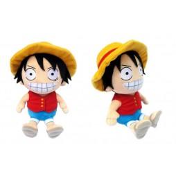One Piece Plush - Luffy Rubber Cappello di Paglia - Peluche 25 cm