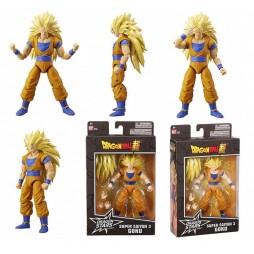 Dragon Stars Series Action Figure Bandai - Dragon Ball Super: Super Saiyan 3 Gokou (Son Gokou) Action Figure - Series 9