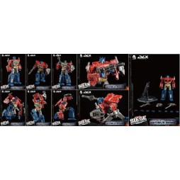 Transformers - W.F.C. Trilogy - Optimus Prime DLX Scale action figure 25 cm - By Tree A