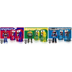 Kotetsu Jeeg (Robot D\'acciaio) + Goldrake Ufo Robot Grendizer+ Mazinger Z - Jumbo Marmit 60 cm By HL PRO Multiplayer Thi