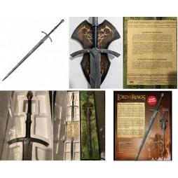 Lord Of The Rings - Il Signore Degli Anelli - Spada - 1/1 Scale Replica - Sword of The Witch King - Movie Version - Unit