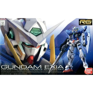 RG Real Grade - 15 Celestial Being Mobile Suit GNOO1 Gundam EXIA Mobile Suit 1/144