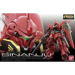 RG Real Grade - 22 Neo Zeon Mobile Suit Customized For NEW TYPE MSN-06S SINANJU Mobile Suit 1/144