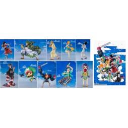 One Piece - Figuarts Zero - Wano Kuni - One Piece Jump Comics #91 Cover - Complete 10 Figure Set Diorama