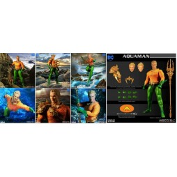 Mezco Toys - One Twelve Collective - DC Comics - Aquaman Comics Version - Action Figure - Cloth Version Scala 1:12