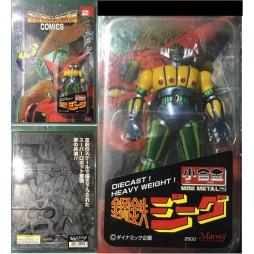 Kotetsu Jeeg - Jeeg Robot D\'Acciaio - Comics N. 2 - Marmit Mini Metal 10cm - Normal Color Ver.