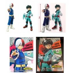 My Hero Academia - Boku no Hero Akademia - DX Figure Special SET - Shoto Todoroki & Izuku Midoriya Banpresto