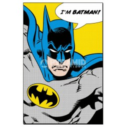 Dc Comics - Batman - Poster - Comic Style I\'M BATMAN