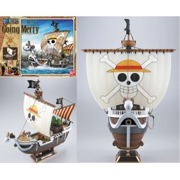 One Piece - Raise Of The Jolly Roger - Going Merry Plastic Kit