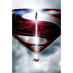 Dc Comics - Superman - Man Of Steel - Poster - Glyph