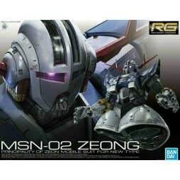 RG Real Grade - 34 MSN-02 ZEONG PRINCIPALITY OF ZEON MOBILE SUIT FOR NEW TYPE 1/144
