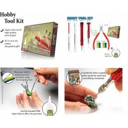 PLASTIC HOBBY TOOL KIT SET - The Army Painter - SET Accessori Per Plastic Kit