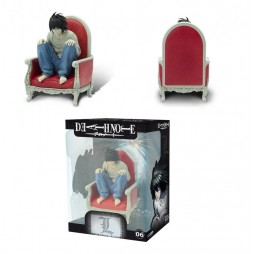 Death Note - SFC-06 Figure by Abystyle - L On Armchair- 15 cm