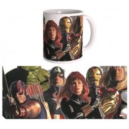 Marvel Comics - Alex Ross Art - Tazza - Mug Cup - THE AVENGERS - Semic