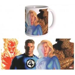 Marvel Comics - Alex Ross Art - Tazza - Mug Cup - THE FANTASTIC FOUR - Semic