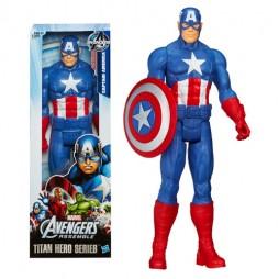 Captain America - Hasbro Titan Hero Series - Captain America - Action Figure