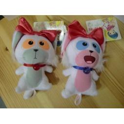 Mahou no Tenshi Creamy Mami - Posi & Nega - Mascot Key Chain, Plush Peluche SET 1