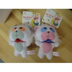 Mahou no Tenshi Creamy Mami - Posi & Nega - Mascot Key Chain, Plush Peluche SET 2