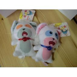 Mahou no Tenshi Creamy Mami - Posi & Nega - Mascot Key Chain, Plush Peluche SET 3