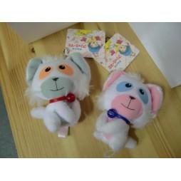 Mahou no Tenshi Creamy Mami - Posi & Nega - Mascot Key Chain, Plush Peluche SET 4